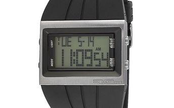 Obdélníkové digitální hodinky s širokým řemínkem RG512