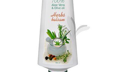 Finclub Bylinný balzám Aloe vera & olivový olej 100 ml