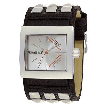 Náramkové hodinky s hranatým ciferníkem RG512