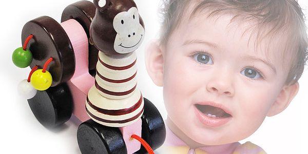 Dřevěná hračka pro děti - opička