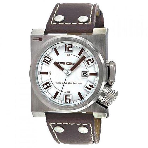 Stylové hodinky s koženým řemínkem RG512