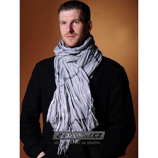 Pánský šátek na krk - zahřejte se vkusně!