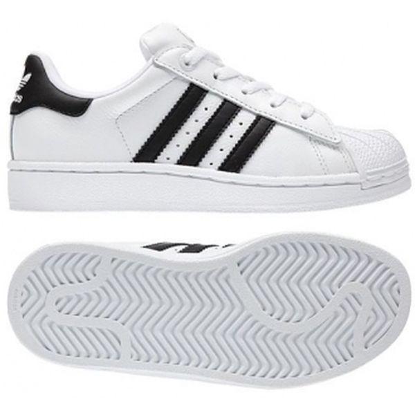 Dětská lifestylová obuv - Adidas SUPERSTAR 2 J white/black