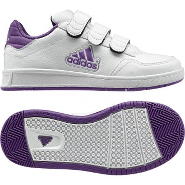Dětská volnočasová obuv - Adidas LK TRAINER LOGO CF K fialová