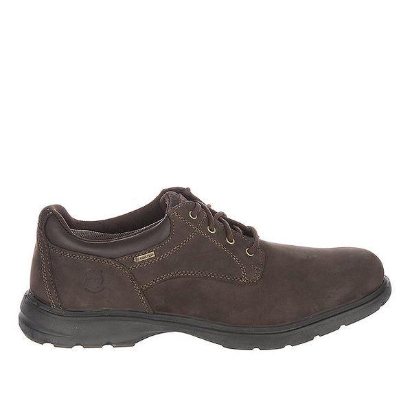 Pánské nízké čokoládově hnědé volnočasové boty Timberland