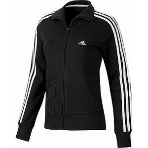 Dámská sportovní mikina - adidas essentials 3s tracktop black/white