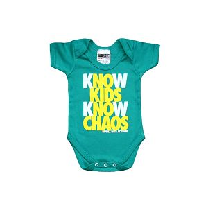 Zelené bodýčko Know Kids