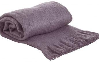 Je vám doma trochu zima? - Hřejivá deka Purple 130x170