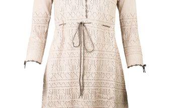 Nádherné lehké úpletové šaty Pail Rosa