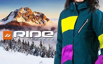 Dámské lyžařské bundy a kalhoty Ride
