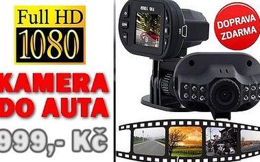 Kvalitní FullHD kamera do auta C600 s DOPRAVOU ZDARMA!