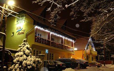 Zimný relax a wellness v hoteli Alfa Superior*** v Miskolctapolca! Plná penzia, so vstupenkou do jaskynných kúpeľov pre 2 osoby na 2 noci len za 125 €