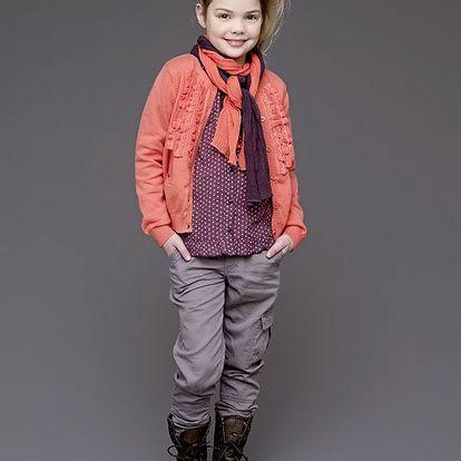 Ležérní dívčí kalhoty Elenor