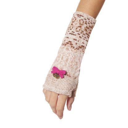 Stylové pletené návleky na ruce - porcelain 262