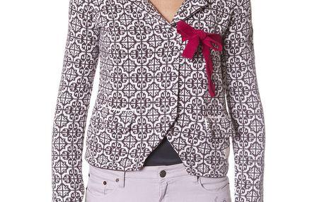 Úžasný petený kabátek - mid grey 233