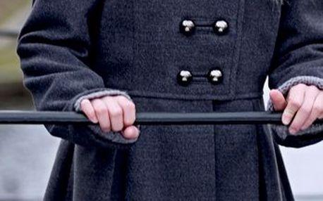 Elegantní dívčí kabát Anita