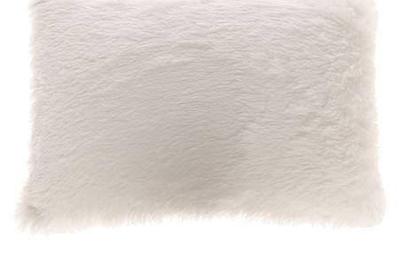 Chlupatý polštářek Blanc 35x50