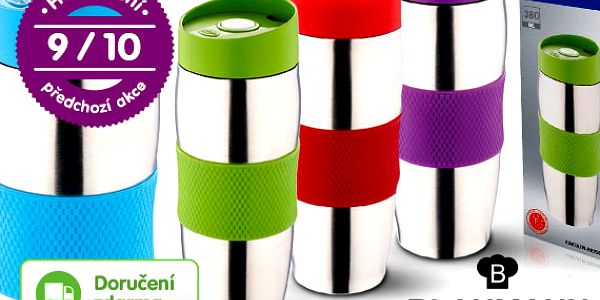 Nerezový termohrnek 380 ml – 4 barvy