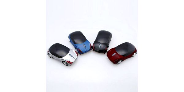 Bezdrátová optická myš ve tvaru autíčka - na výběr ze 4 variant a poštovné ZDARMA! - 2401706