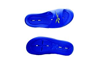 Dámské pantofle - reebok kobo v blue/yellow