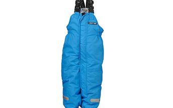Modré lyžařské kalhoty