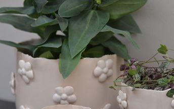 Obal na květiny Fleur ivory