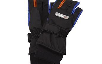 Černo-modré lyžařské rukavice Reima Wizard