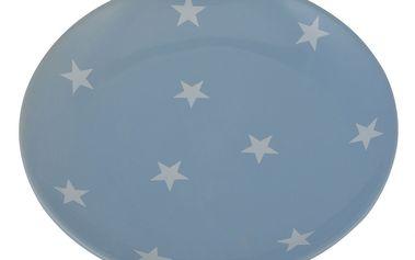 Talíř Stars blue