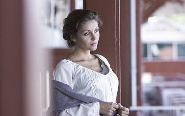 Nádherná a příjemná tunika Cream white