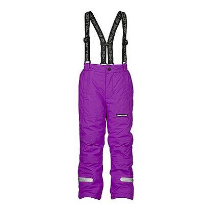Lyžařské fialové kalhoty