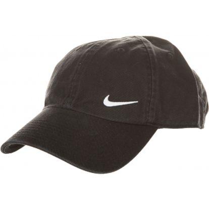 Kšiltovka - nike heritage swoosh cap black