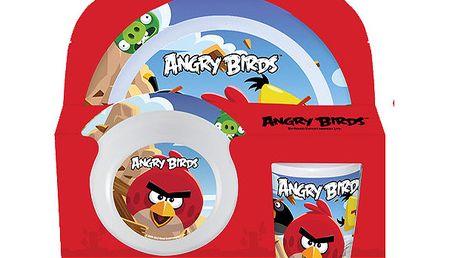 Třídílný jídelní set - Angry Birds