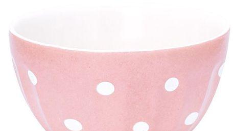 Francouzská miska Naomi pink - menší
