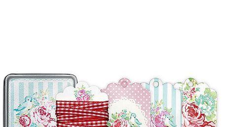 Dárkové kartičky v krabičce - 24 ks