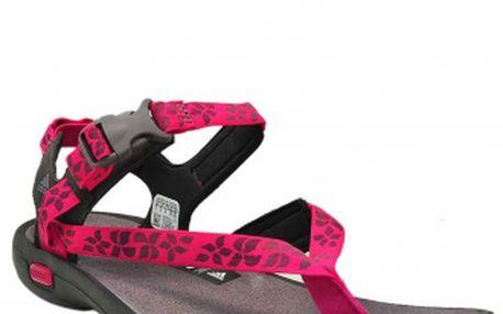 Dámská outdoorová obuv - Adidas LIBRIA SANDAL brown/pink/shade