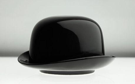 Cukřenka klobouk černý