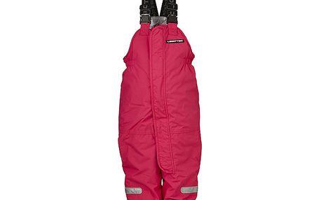 Červené lyžařské kalhoty