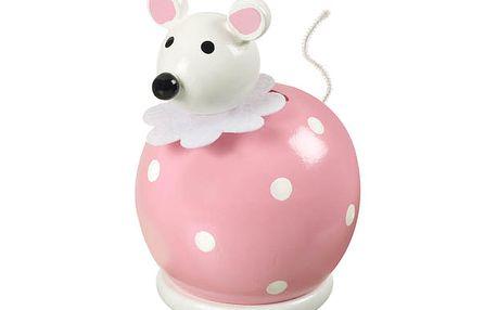 Roztomilá pokladnička Myška na první úspory