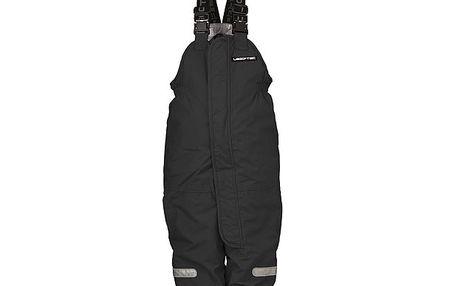Černé lyžařské kalhoty