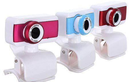 Webkamera s mikrofonem – 3 barvy a poštovné ZDARMA! - 3007385