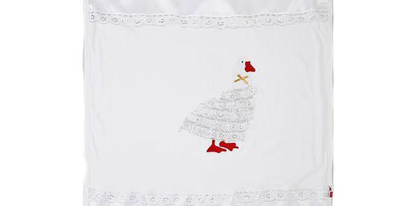 Bílá deka 75x90 cm od značky Abentiny
