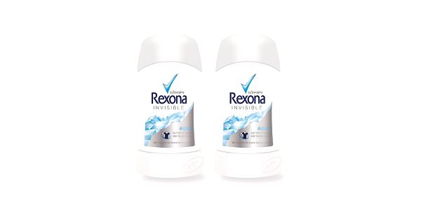 2xRexona deo stick Invisible Aqua 40ml