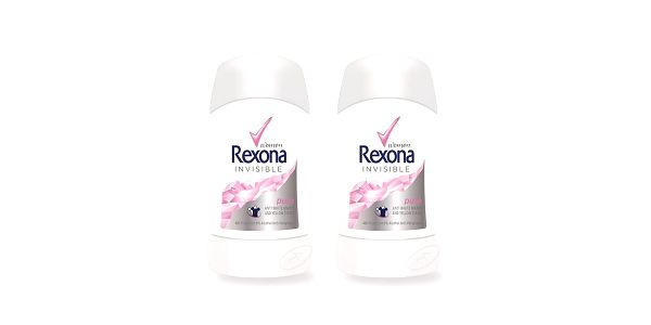 2xRexona deo stick Invisible Pure 40ml