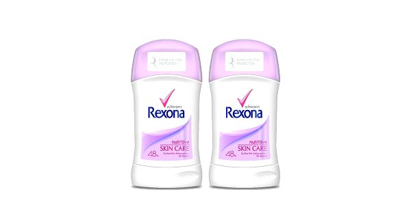 2xRexona deo stick Nutritive 40ml