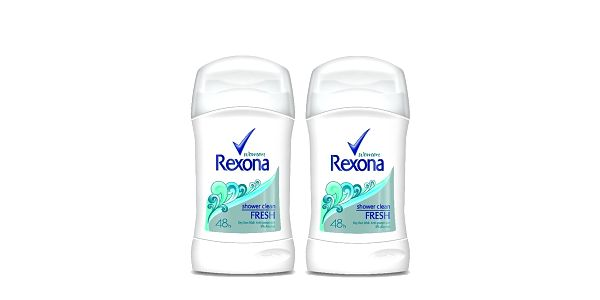 2xRexona deo stick Shower Clean 40ml