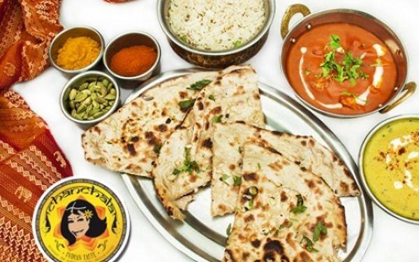 Stylové restaurace CHANCHALA v OC Palladium! Sleva na VEŠKERÁ INDICKÁ JÍDLA!!! Ochutnejte tandoori, samosa, tikka masala, kuřecí, jehněčí i vegetariánské indické speciality v restauraci na náměstí Republiky na Praze 1!!!