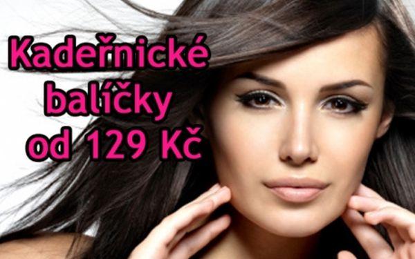 Fantastická cena za profesionální KADEŘNICKÉ SLUŽBY Střih, melír nebo barvení od 129 Kč od kadeřnic studio OLYMP!!!.