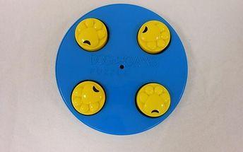 Interaktivní hračka s pamlsky, kolo - hra pro zabavení vašeho mazlíčka