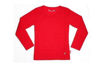 Jednoduché červené tričko od The Dutch Design Bakery