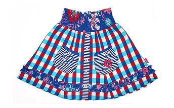 Originální kostkovaná sukně od The Dutch Design Bakery